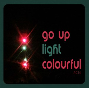 go up light colourful