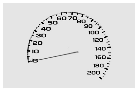 Chevrolet speedometer design