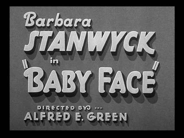 Image result for baby face 1933 the end