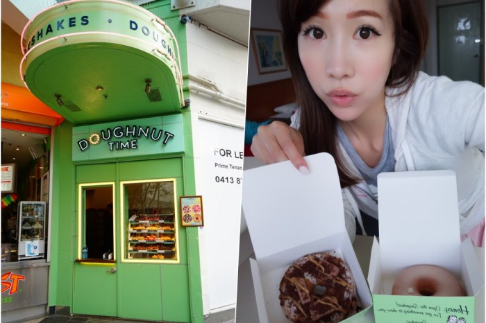 【澳洲自由行】澳洲美食 doughnut time ♥ 黃金海岸必吃的超浮誇系甜甜圈