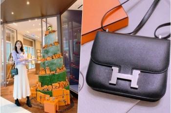【精品】Hermes愛馬仕康康包 constance17 黑銀 ♥ 一輩子一定要收藏一個