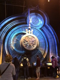 The giant swinging clock from the 3rd film.