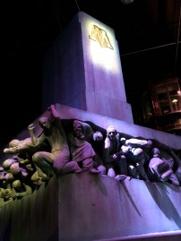 The Ministry of Magic statue from the later films.