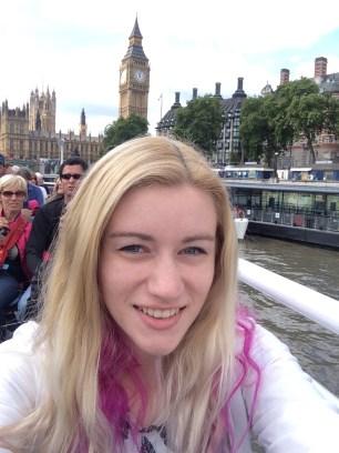 Selfie with Big Ben!