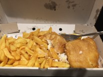 Finally found a good fish n chips place.