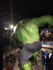 Backside of the Hulk