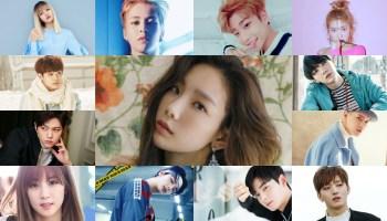 76 K Pop Idols Celebrating Birthdays On April Annyeong Oppa