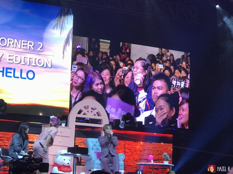 Park Ji Hoon Manila | Cup-phone convo with a fan.
