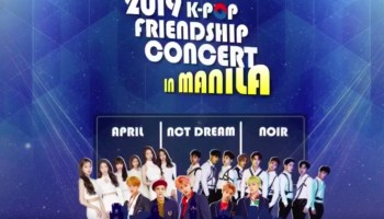 Official Line-up for the 2019 K-Pop Friendship Concert in Manila