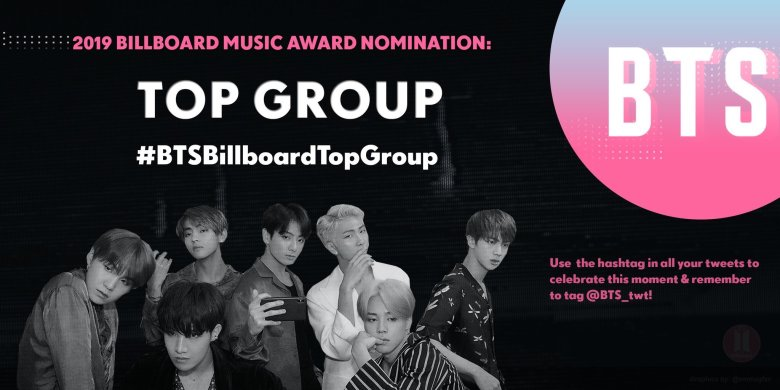 K-Pop group BTS is nominated for BBMA's 'Top Duo/Group