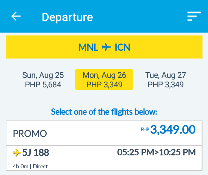 SEAT SALE ALERT: Round-trip ticket to Korea for as low as