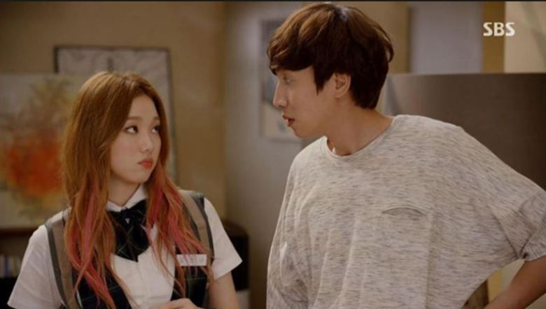 Lee Sung Kyung and Lee Kwangsoo