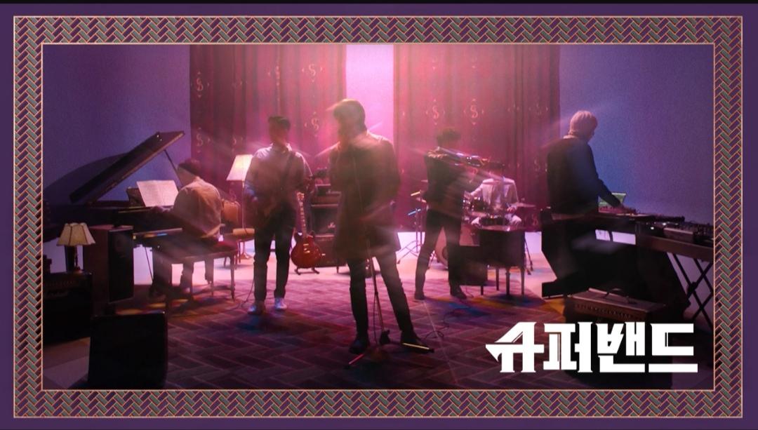 6 Tim SuperBand JTBC dan Penampilannya yang Mengagumkan Poster Resmi © SuperBand JTBC