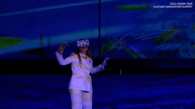 3D VR Artist at ASEAN-ROK Culture Innovation Summit