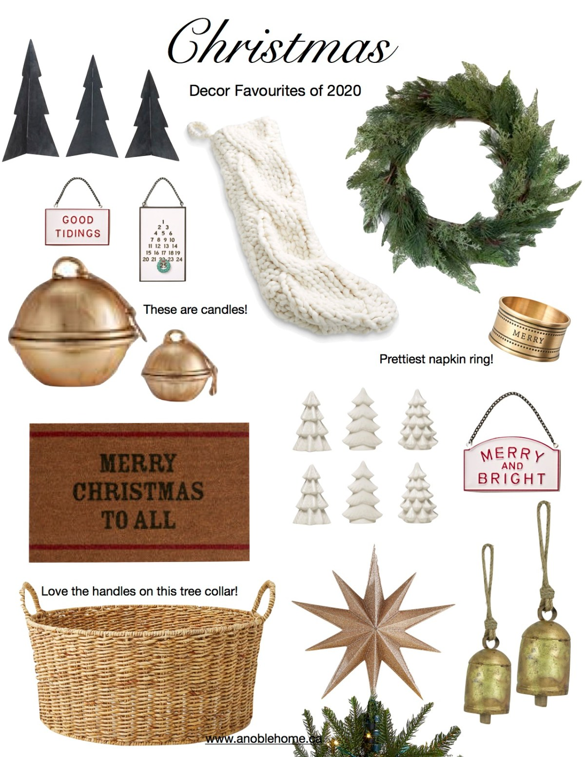 Deck the Halls … Christmas Decor Favourites of 2020