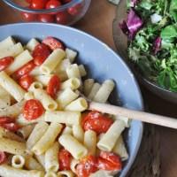 OATLY Review + Creamy Garlic Pasta