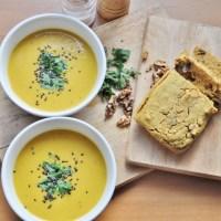 Autumn Creamy Vegan Butternut Squash Soup