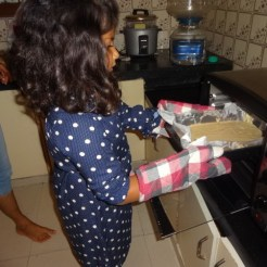 Baking at Anokhi Montessori