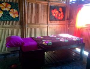 A typical Balinese massage parlour.