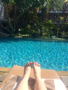 Enjoying 5 star bliss at Padma Resort Legian.