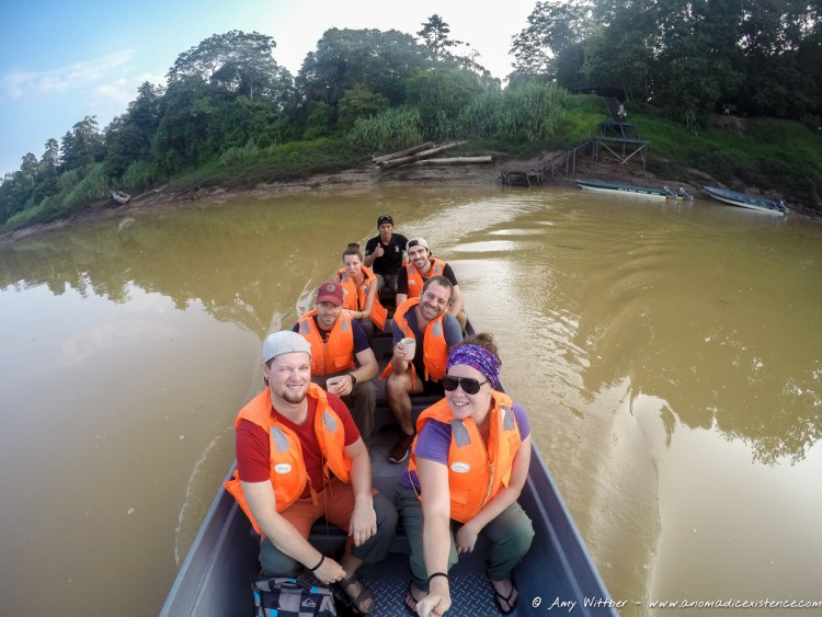 The best part of our 3D2N Kinabatangan River experience - was this awesome bunch of people to share it with!