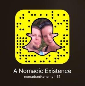 Add us on SnapChat: nomadsmikenamy