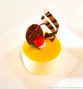 Heaven on a plate - Passionfruit Cheesecake for just $3.30 AUD.