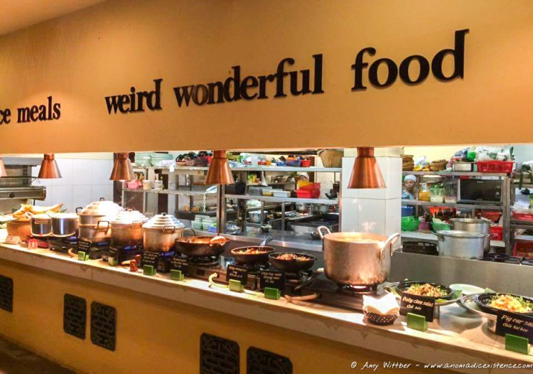Weird, wonderful food - yep, you can say that again!