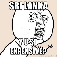 Sri Lanka Expensive, Meme