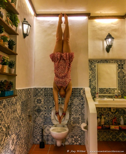 New olympic sport - toilet diving...