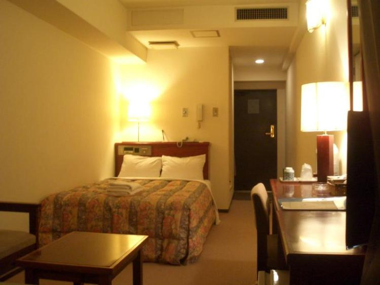 Our hotel in Tokyo - our biggest (and most expensive) room. Image via agoda.com