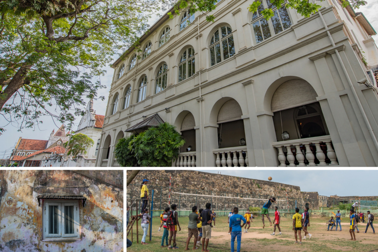 Snaps of the streets of Galle, Sri Lanka