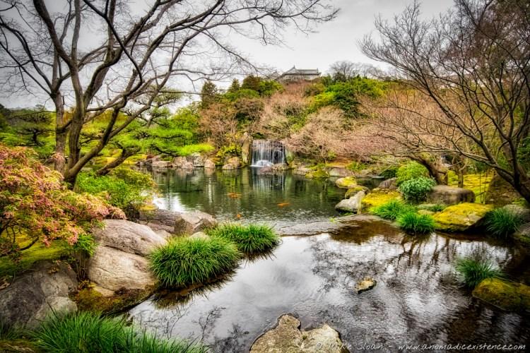 Koko-en Samurai Gardens, just outside of the castle complex.