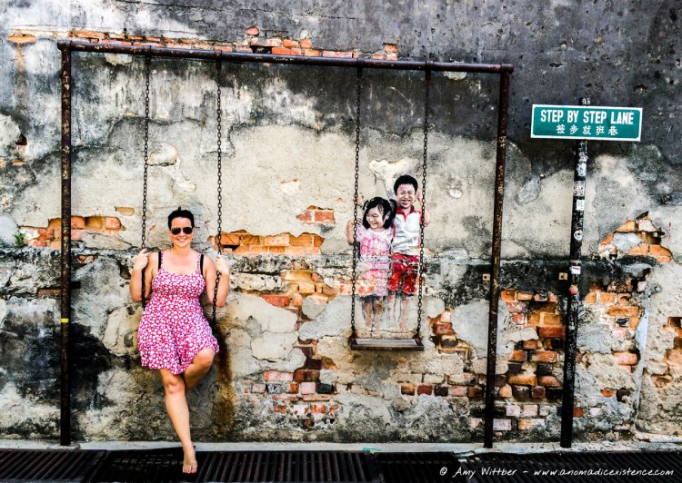 One of my favourite murals in Georgetown, Penang.