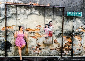 Street Art, Georgetown, UNESCO World Heritage Site, Penang, Malaysia