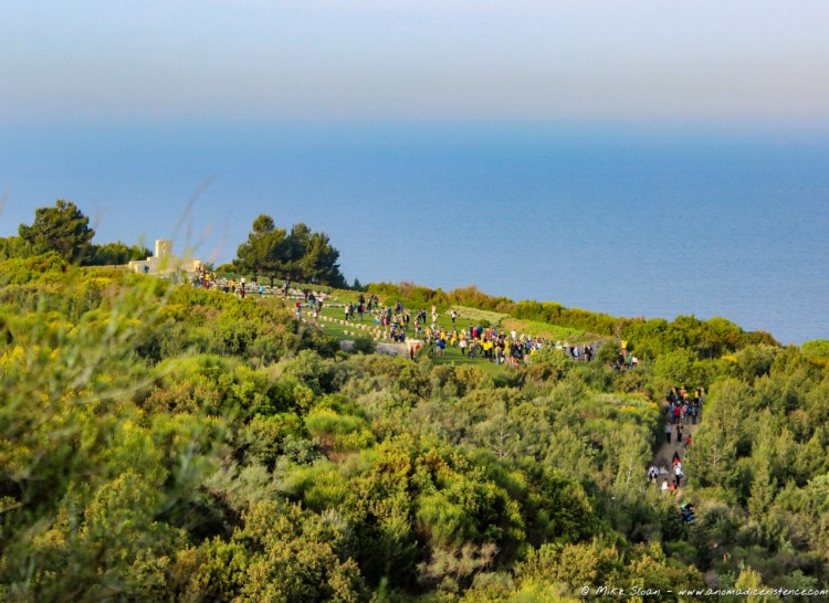 Views of the memorial sites on the Gallipoli Peninsula.