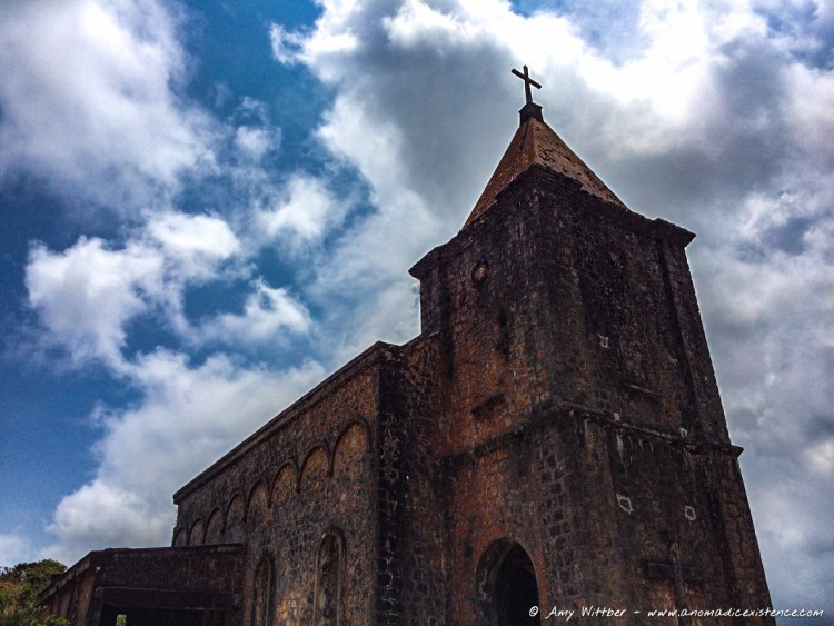 Abandoned Church, City of Ghosts, Cambodia, Kampot, Bokor National Park, Church Ruins (1 of 1)