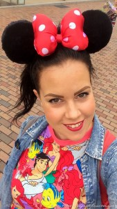 Minnie Ears - Check!