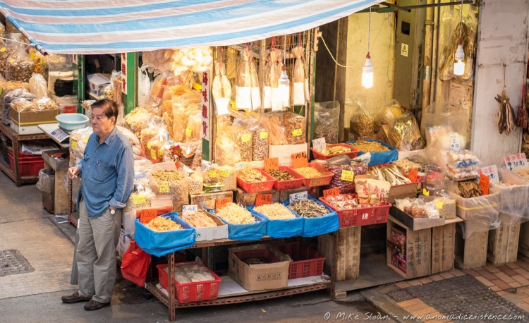 Market Stalls, Street Photography, Hong Kong, Chian