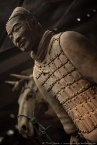 An individual terracotta warrior.