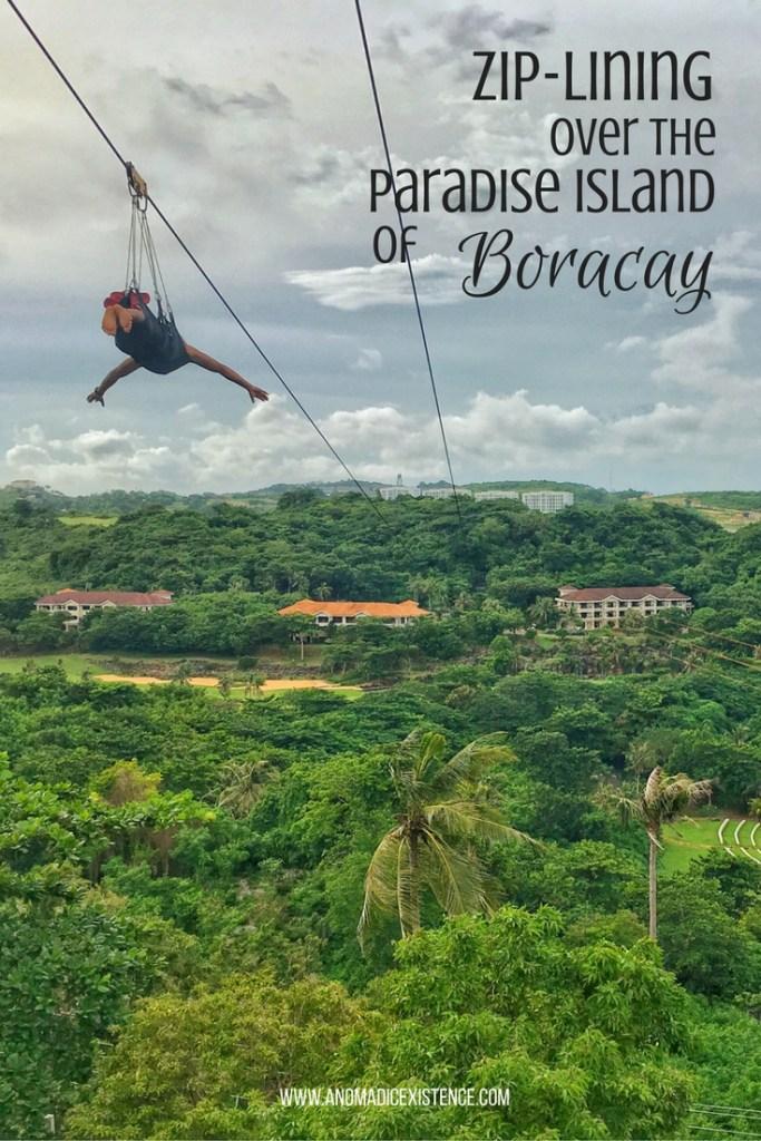 Zip-Lining Over the Paradise Island of Boracay