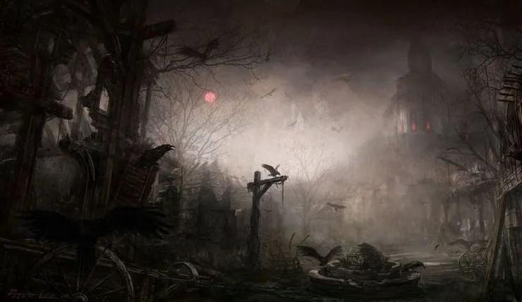 Village effrayant