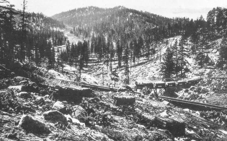 Slaughterhouse Canyon, 1877