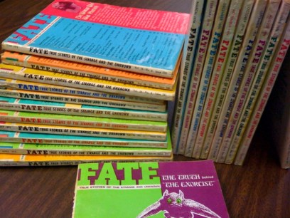 Copies of FATE Magazine Donated by Craig Woolheater