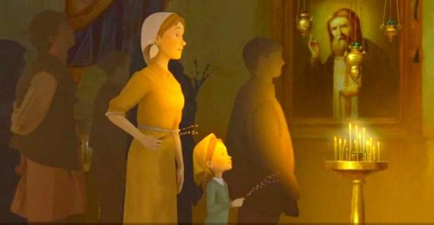 Film animat pentru copii - despre Dumnezeu si credinta: o productie ruseasca, august 2015