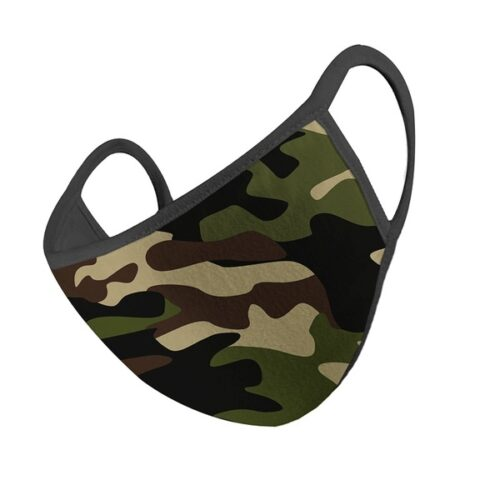 Unisex Fashion Camouflage Print Casual Face Mask