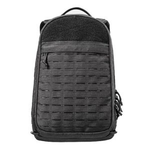 Outdoor Military Training Multifunction Bulletproof Black Backpack