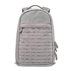 Outdoor Military Training Multifunction Bulletproof Gray Backpack