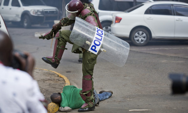 Kenya Violent Demonstrations