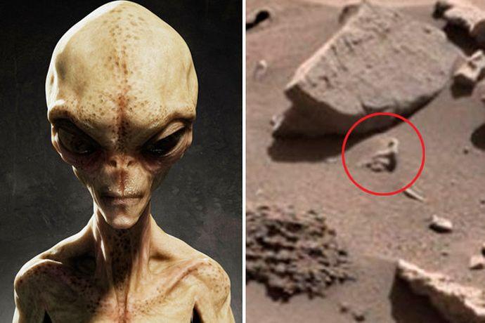 Proof of Aliens on Mars? NASA Image Shows 'Human-Like ...